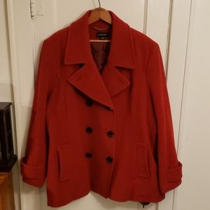 Lands' End Womens peacoat- Plus Size